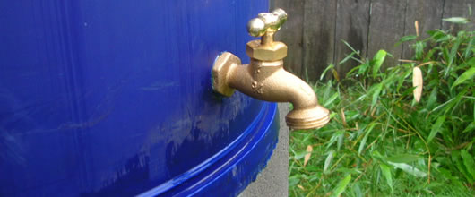 Metal Raincatch Barrel with Spigot