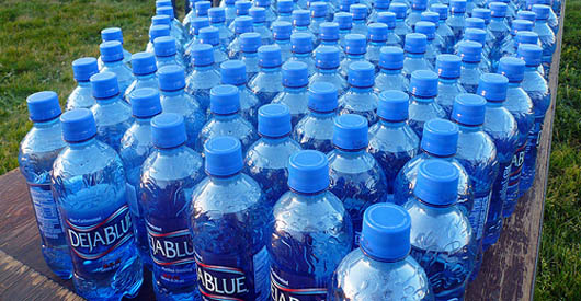 The rise and fall of bottled water