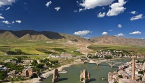 Hasankeyf, Turkey overlooking the Tigris River