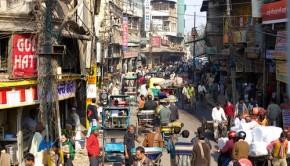 New Delhi street