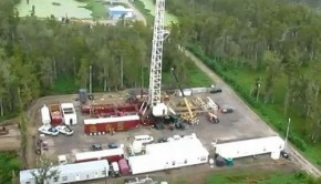Louisiana Sinkhole Drilling Rig