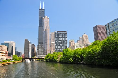 Waste Water Dumped into the Chicago River
