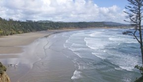 Coast Near Newport Oregon