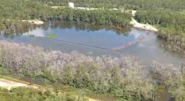 Louisiana Sinkhole Update 23 Aug 2013
