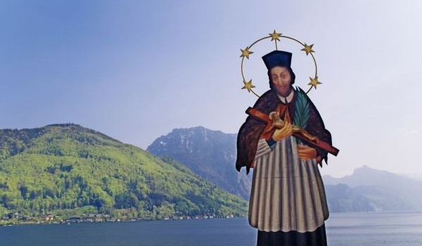 Saint on a Lake