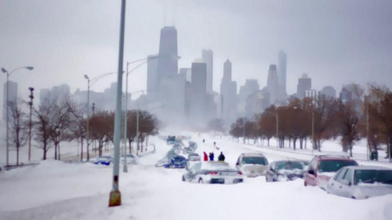 snowpocalypse emergency lights